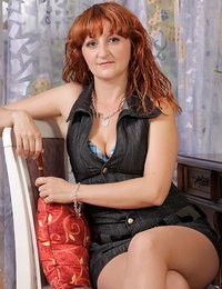 Office cougar Katia..
